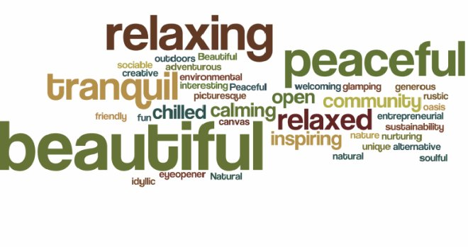 relaxation words
